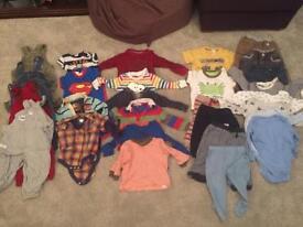 Boy baby clothes bundle 6-12 months