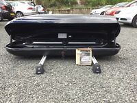 Genuine Mini Roof Box and Roof Rack - Excellent Order With All Keys and Tool.