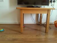 Wood Table for Living Room - Very Strong, Solid and Sturdy - RRP £65