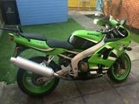 Zx6r 53 plate very low millage
