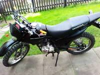 Honda xr 125 .with 12 month mot and extras