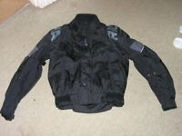 Motor Cycle Jacket Richa Small Size With Armour Weymouth