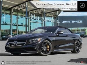 2017 Mercedes-Benz S63 AMG 4MATIC Cabriolet AMG Packages w/Night