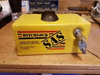 Sturdy tow hitch lock