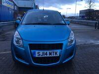 2014 blue Suzuki Splash 996 cc Petrol Manual MOT'd 1 Owner Full Suzuki service history 2 keys £20Tax