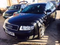 AUDI A4 ESTATE 1.9 TDI 130 SE DIESEL MANUAL AVANT 2003 LEATHER SEATS