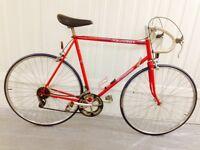 Fully serviced warranty 60 cm Peugeot 10 speed Lightweight Road Bike