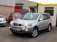 BARGAIN 2006 REG NISSAN X-TRAIL//FULL LEATHER/SAT-NAV//LOTS OF SERVICE HISTORY