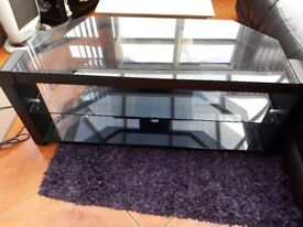 Smoked Glass corner Tv unit