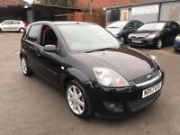 FORD FIESTA ZETEC CLIMATE 60K LONG MOT 2 KEYS 5Dr BLACK