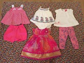 Girls 3-6month Monsoon outfits
