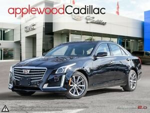 2018 Cadillac CTS 3.6L Luxury 3.6 V6, AWD, NAV, PANORAMIC SUN...
