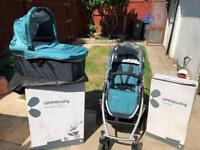 Uppababy Visa travel system pushchair and pram