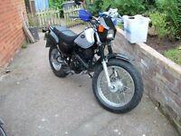 A nice Yamaha TW.