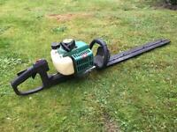 Wolf petrol hedge trimmer for sale