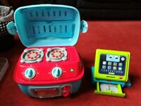 Leap Frog Till and ELC Mini sizzling oven