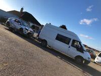 Ford Transit campervan, dayvan, race van