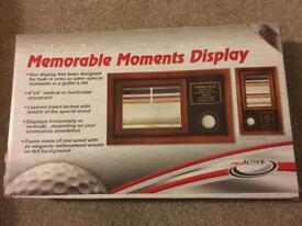Golf Display Case - Brand New