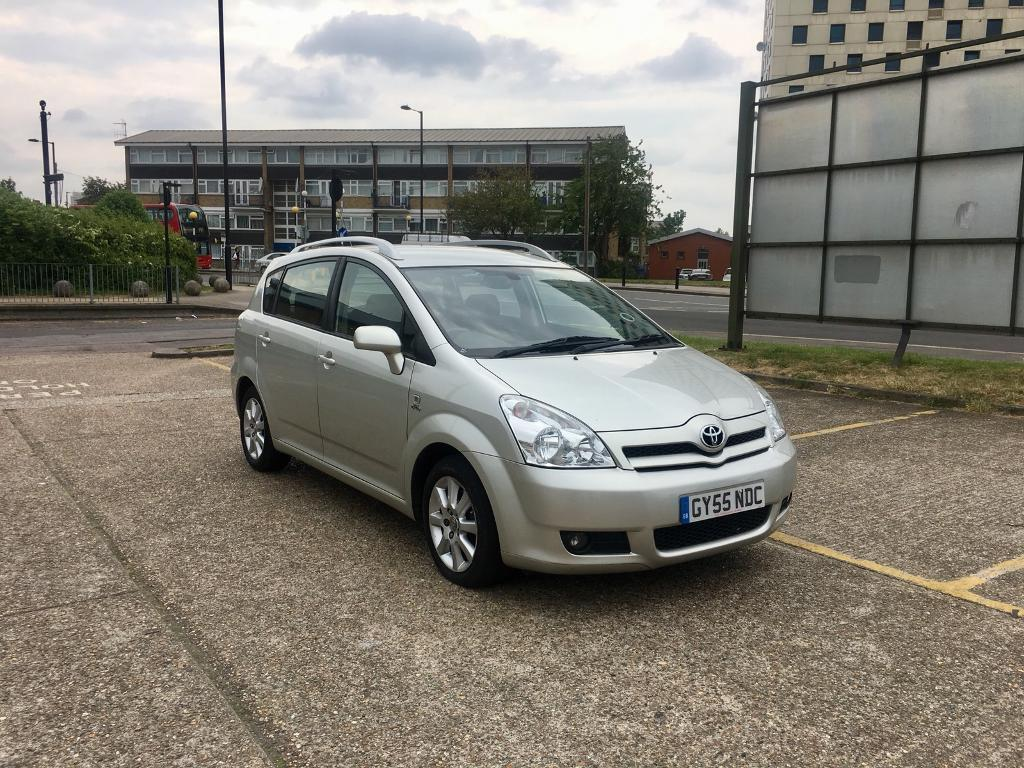 2006 TOYOTA COROLLA VERSO 2.0 DIESEL D4D - ONLY 89k LOW MILES, MANUAL, 7