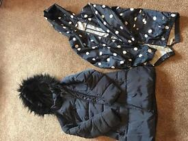 2 GIRLS COATS, BOTH FROM NEXT AGE 5-6 £10 FOR BOTH