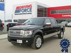 2014 Ford F-150 Platinum 5 Passenger Short Box, 47,575 KMs, 3.5L
