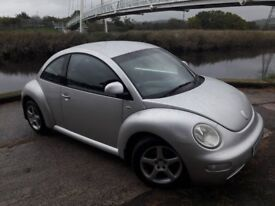 02 REG BEETLE WITH ALLOY WHEELS...REMOTE CENTRAL LOCKING..ELECTRIC WINDOWS...CHEAP VOLKSWAGEN CAR..