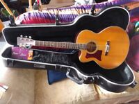 Tanglewood Sundance TW55 electro-acoustic guitar left handed Solid Wood