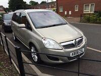2008 Vauxhall zafira elit cdti, 2 owners, 2 keys hpi clear,Bargain