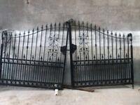 Gates black