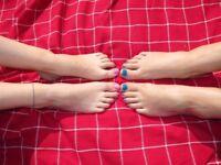 Fabulous feet needed for modelling!