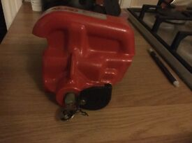 Brand new never been used alco hitch lock