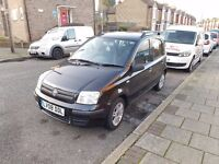 Fiat Panda 1.2 Dynamic, Black, less than 49k miles, one previous owner, service history