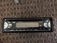 JVC car CD player stereo