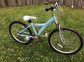 "Girls Raleigh Diva bike 24"" wheels"