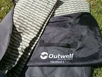 outwell hartford L fitted tent carpet