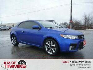 2011 Kia Forte Koup 2.4L SX Leather Sunroof Heated Seats
