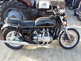 Rare Honda GL1000 1978 Goldwing