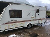 2003 Elddis odyssey 482 2 birth caravan