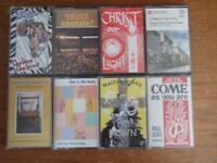 Christian music cassette tapes