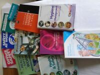 11 HEALTH & SAFETY & FOOD HYGIENE BOOKS