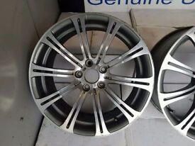 BMW E90 E91 E92 E93 GENUINE M3 220M ALLOY WHEEL CAN POST ANYWHERE IN UK