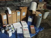 JOB LOT 28 COMMERCIAL OIL AIR & HYDRAULIC FILTERS. £30