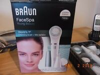 Braun Face Spa and Face Epilator For Sale Brand New