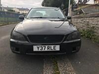 Lexus IS200 MOT sep 18. New service tyres brakes & wheels with calipers just refurbished.Sell/ swap