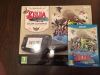 Nintendo Wii U Limited Edition Zelda Console Boxed