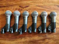 Shure Beta 58A (6 Available)