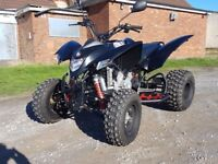2017 (66 PLATE) QUADZILLA XLC 500 IN BLACK, ONLY 8 MONTHS OLD! ROAD LEGAL QUAD BIKE, VERY POWERFUL.