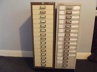 Bisley 15 Drawer Filing Cabinet Very Good Condition