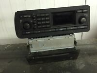 Saab 93 radio / cd changer / CD player from a 2004 plate car