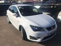 Seat Ibiza FR CR Tdi 2012 3 door. Only 56K with Full dealer history. £30/year tax. Price Reduced